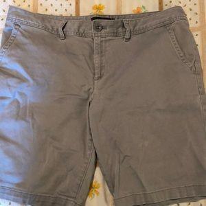 Eddie Bauer gray shorts